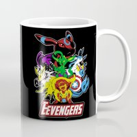 umbreon Mugs featuring Nick Fureon's Eevengers by Prismic Designs