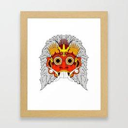 Rangda Framed Art Print