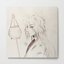 Old [Jap] style character Metal Print