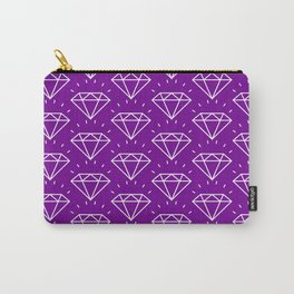 DIAMOND ((violet)) Carry-All Pouch