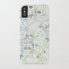 Boxed Skulls Slim Case iPhone X