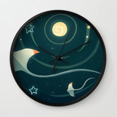 Space Ray Wall Clock
