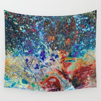 splatter Wall Tapestries featuring Splatter by Stephen Linhart