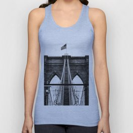 Brooklyn Bridge Unisex Tank Top