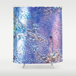 Raindrops on Glass Shower Curtain