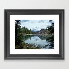 Moraine Lake Alberta Framed Art Print