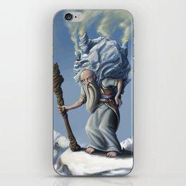 The Ice Old Man iPhone Skin