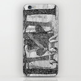The Forest God iPhone Skin
