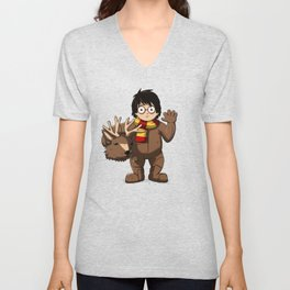 Harry Cosplay Unisex V-Neck