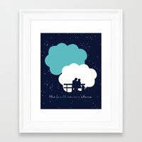 the fault in our stars Framed Art Prints featuring The Fault In Our Stars by laurenschroer