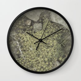 The tiny forest vintage Wall Clock