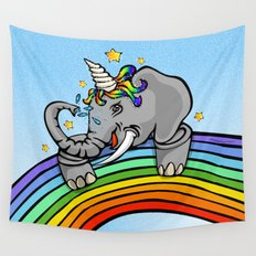 Magical Uniphant! Wall Tapestry