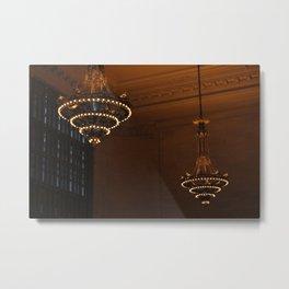 42nd Street Light, New York Metal Print