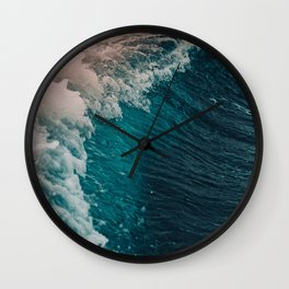 The waves Wall Clock