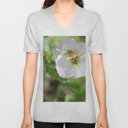 Bees and Buttercups Unisex V-Neck