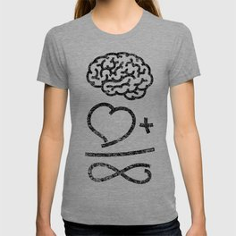 The infallible formula (dark on light version) T-shirt