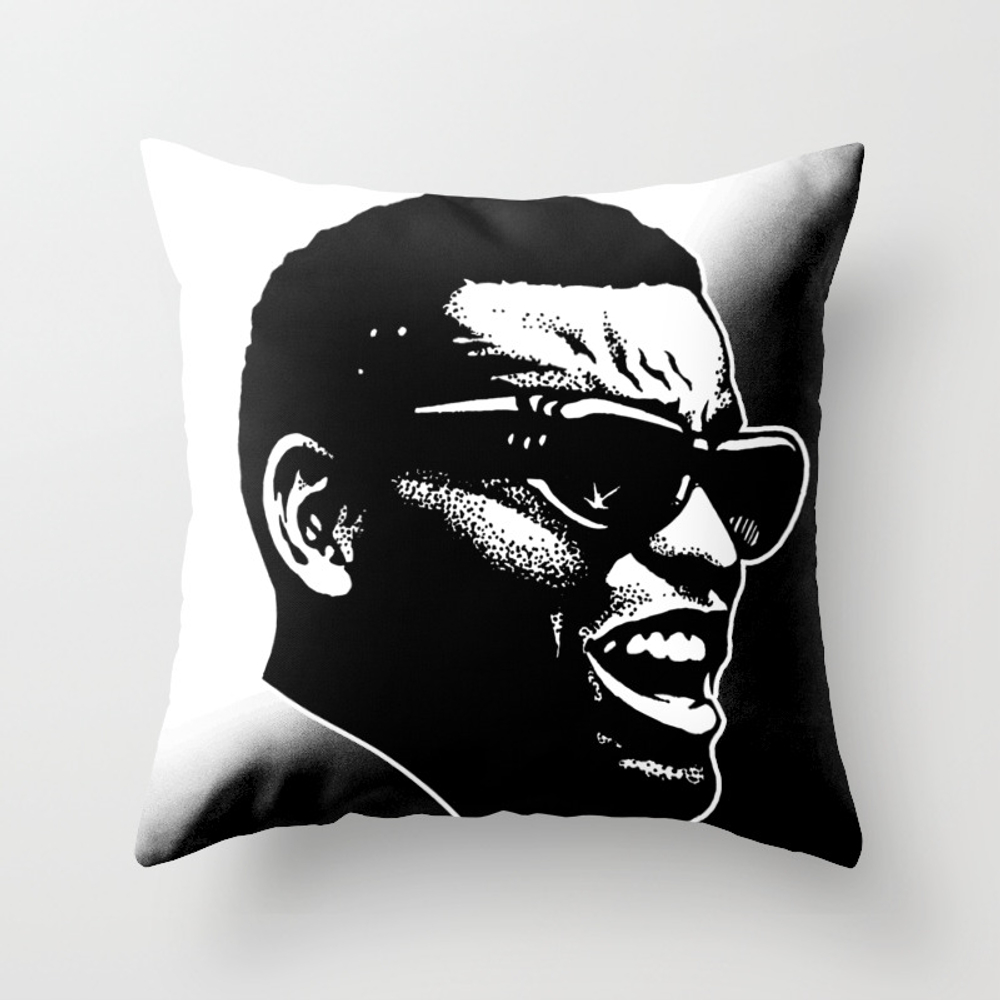 Brother Ray Throw Pillow by Midnightstudio PLW8845857