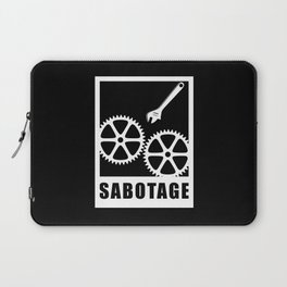 Sabotage Laptop Sleeve