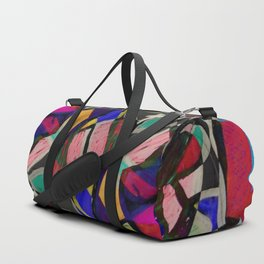 Collage of Color Duffle Bag