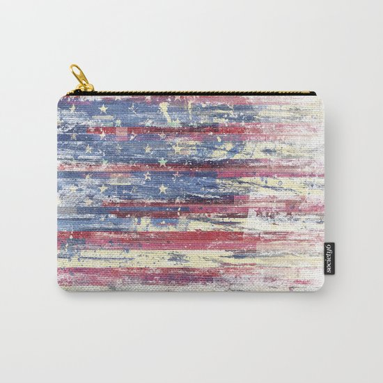 Amerikka Distress Carry-All Pouch