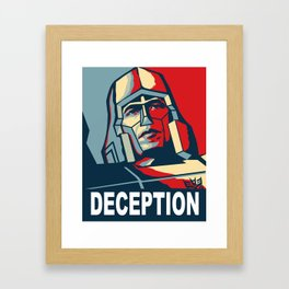 Deception 1 Framed Art Print