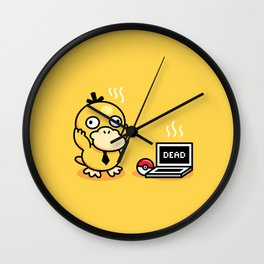 Psyduck in real life Wall Clock