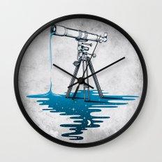 Liquid Universe Wall Clock