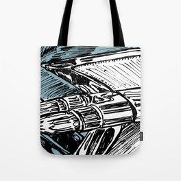 CADILLAC TAIL FIN Tote Bag