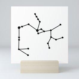 Sagittarius (Black & White) Mini Art Print