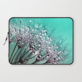 Dandelion Blowball Macro Close Up Laptop Sleeve