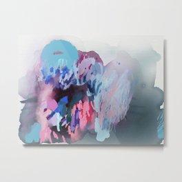 Ice Bright Metal Print