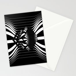 Catch Me in B&W Stationery Cards