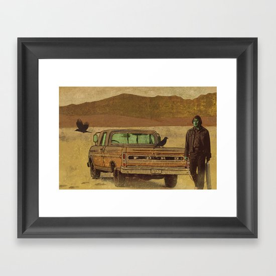 No Country  Framed Art Print