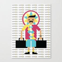 VAMOS! Canvas Print