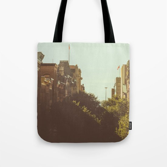 Fall on Prince William Tote Bag