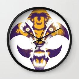 Graffti LSU Wall Clock