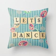 Let's Dance Throw Pillow