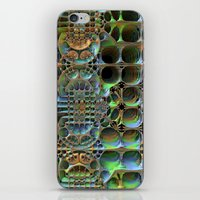 honeycomb iPhone & iPod Skins featuring Honeycomb by Lyle Hatch
