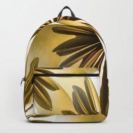 Origami Flowers Golden Tones #decor #society6 #buyart Backpack