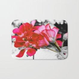 Flowers : Pop of Color Bath Mat