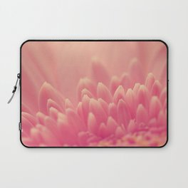 Pink Gerbera Daisy Laptop Sleeve