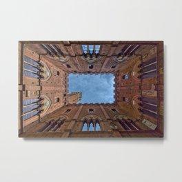 The Palazzo Comunale Metal Print