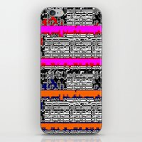 data iPhone & iPod Skins featuring DATA by lucborell