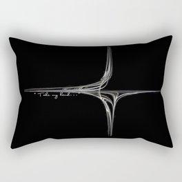 Take my hand - Laptopskin Rectangular Pillow