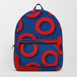 Fishman Donuts Heart Backpack