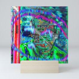 Sigh Kick Turbulance [A Brand New Experiment Series] Mini Art Print