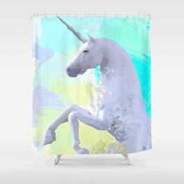 Magic Unicorn I Shower Curtain