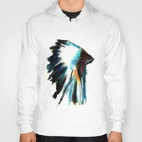 headdress Hoodies featuring Headdress by a collection. James Peart