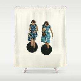 Quicksand Shower Curtain