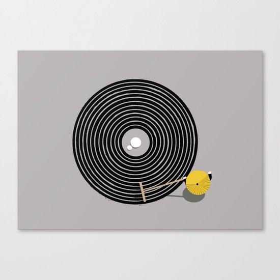 Zen vinyl Canvas Print